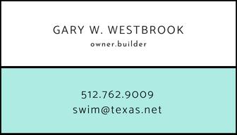 Austin Custom Swimming Pool Designer / Builder - 512.762.9009