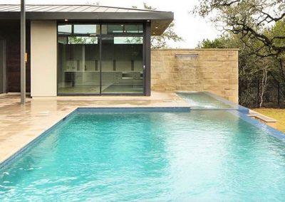 Custom Geometric Pools - Westbrook Pools Austin Texas