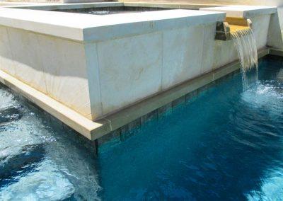 Custom Spa Design Features - Westbrook Pools Austin Texas